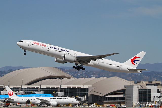 B-2025 departs LAX