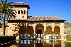 Gardens of the Alhambra (Granada).