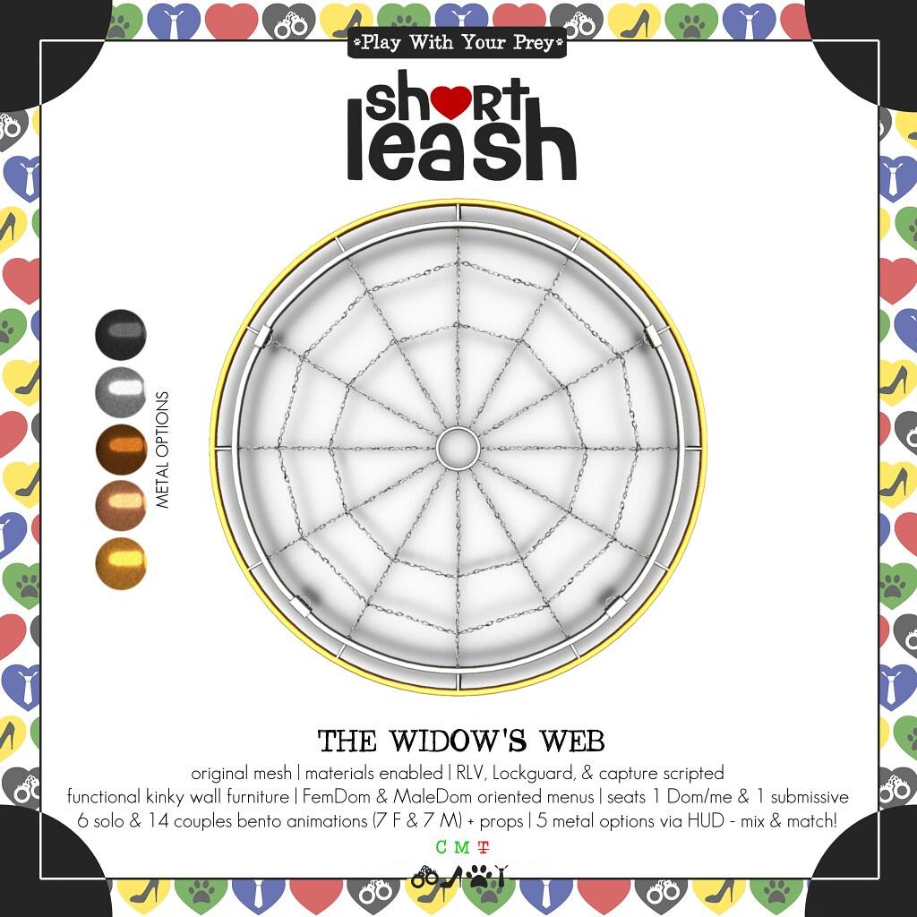 .:Short Leash:. The Widow's Web