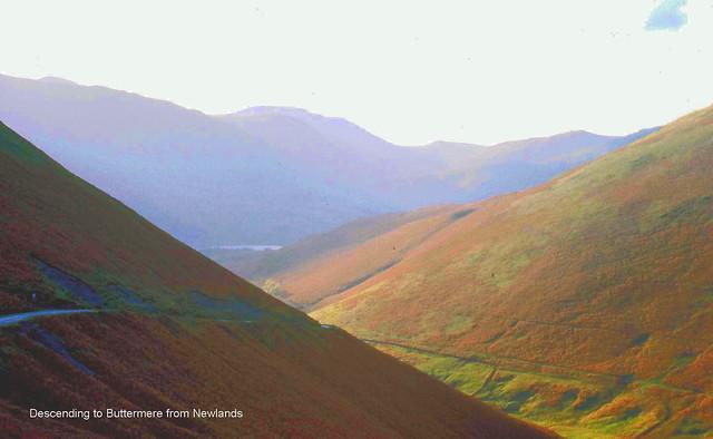 Descending to Buttermere from Newlands Pass
