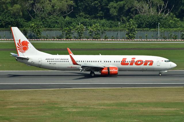 Lion Air PK-LHV B739 SIN