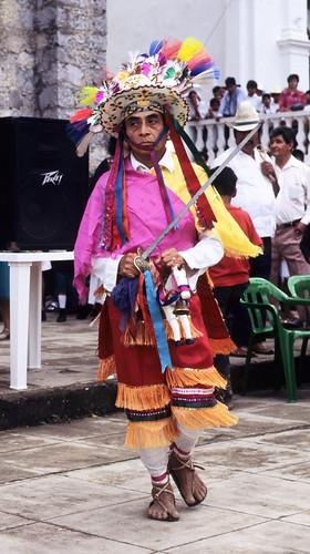 Santiago Dancer Cuetzalan Puebla Mexico