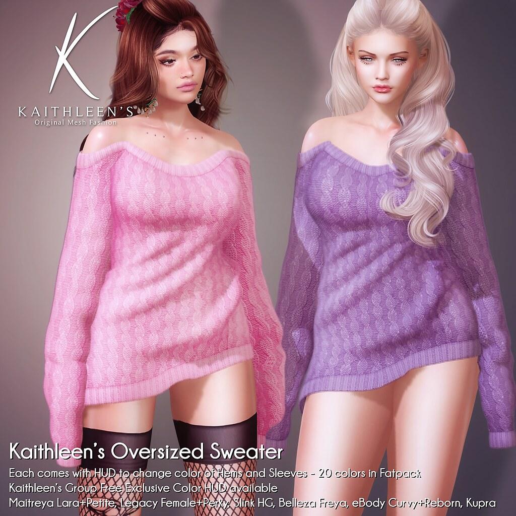 Kaithleen's Oversized Sweater @ #BIGGIRL
