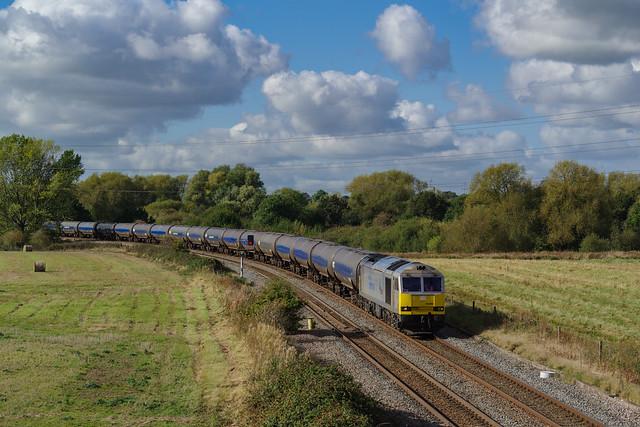 60066 At Stenson Junction. 15/10/2021.