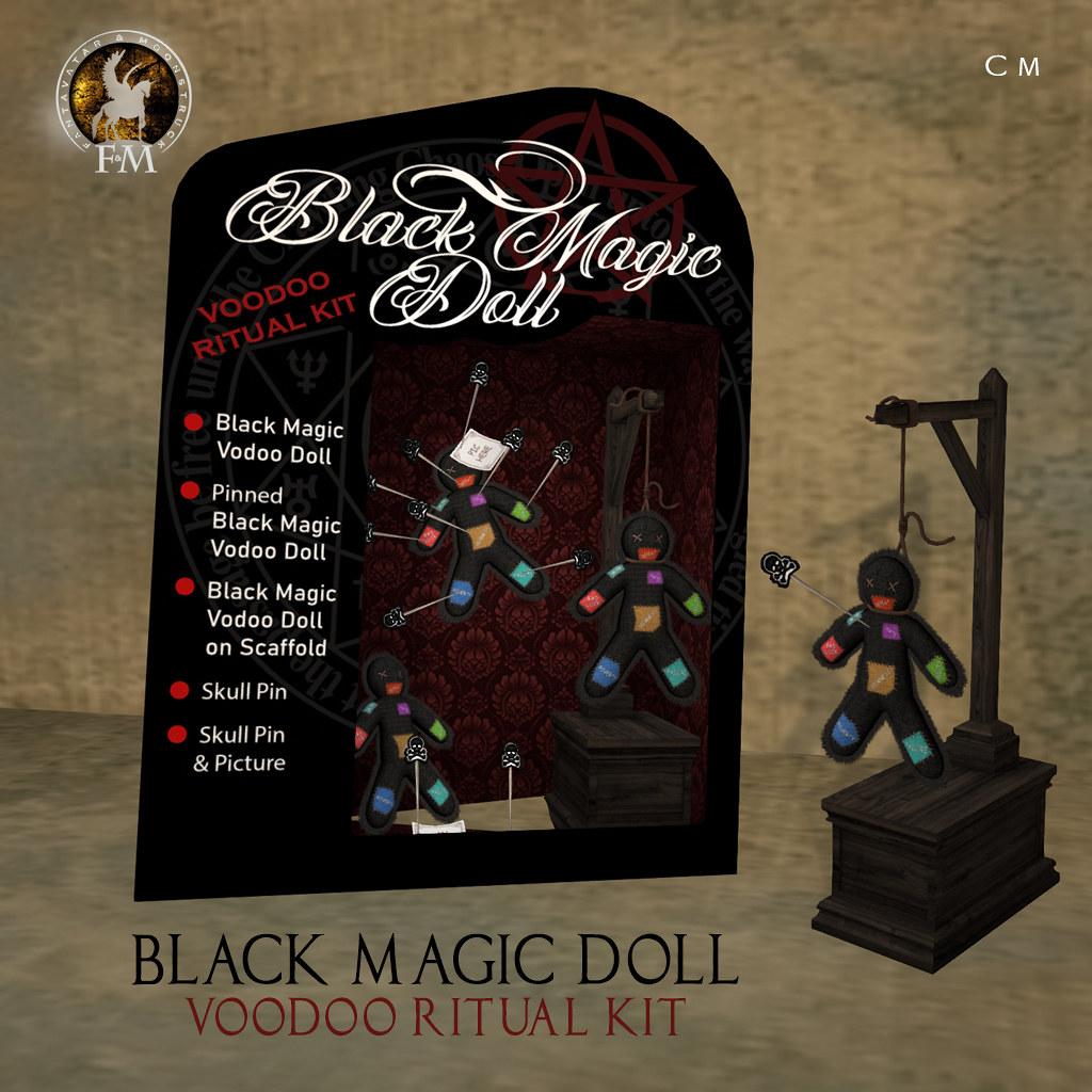 F&M Black Magic Doll