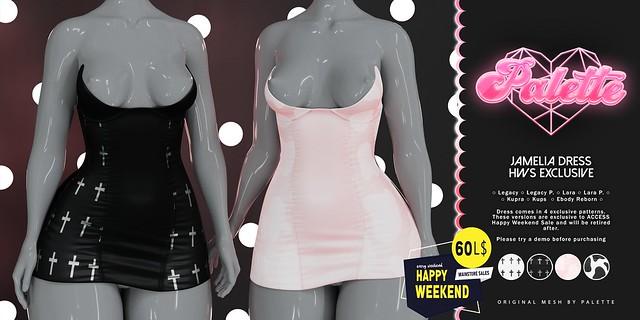 Jamelia Dress - UPDATE & HWS exclusives.