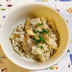 エリンギと舞茸の炊き込みご飯
