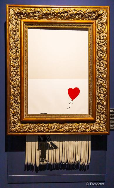 Ein Kunstwerk von Banksy