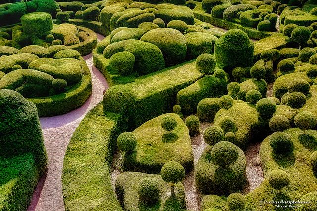 Jardin remarquables boxwood gardens - Jardins de Marqueyssac (Vézac/FR)