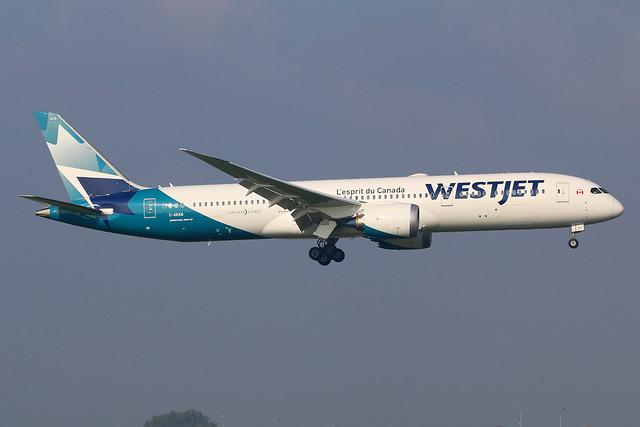 Westjet / C-GKKN / Boeing787-9 / c/n64977 / f/f'20 / AMS / EHAM / Schiphol / 10-10-2021