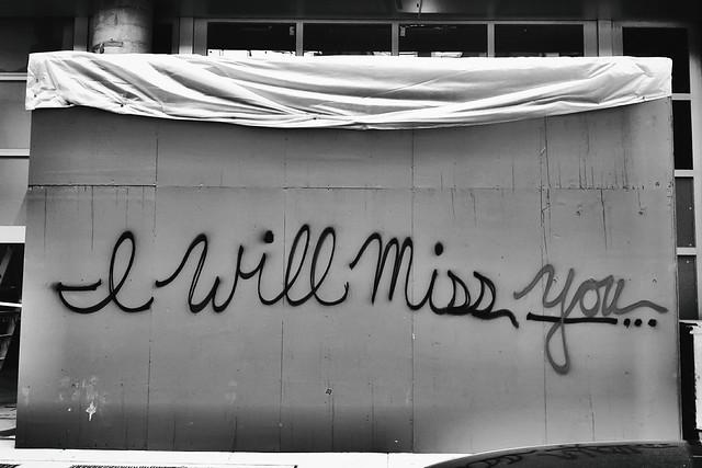 I Will Miss...