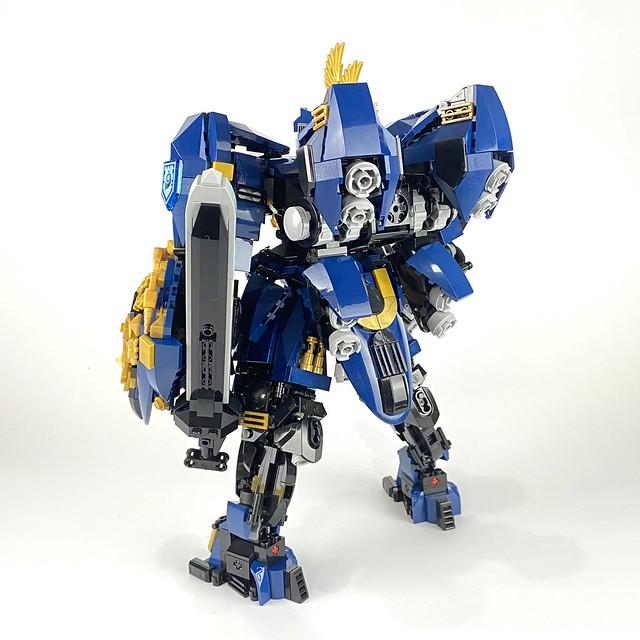 "NX-01 Armor-Knight ""Royal Falcon"" final state"