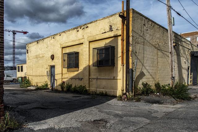 Yellow Shop Building