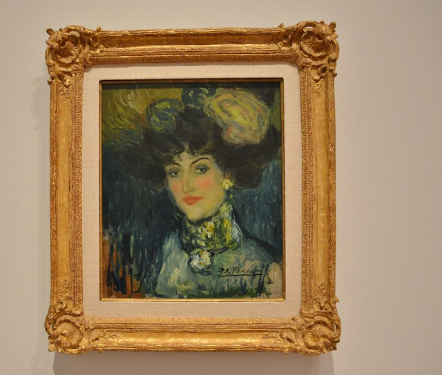 Woman with a Plumed Hat, Picasso: Painting the Blue Period, Art Gallery of Ontario, AGO, 317 Dundas Street West, Toronto, ON