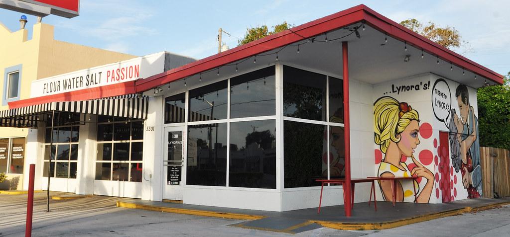 former Esso gas station