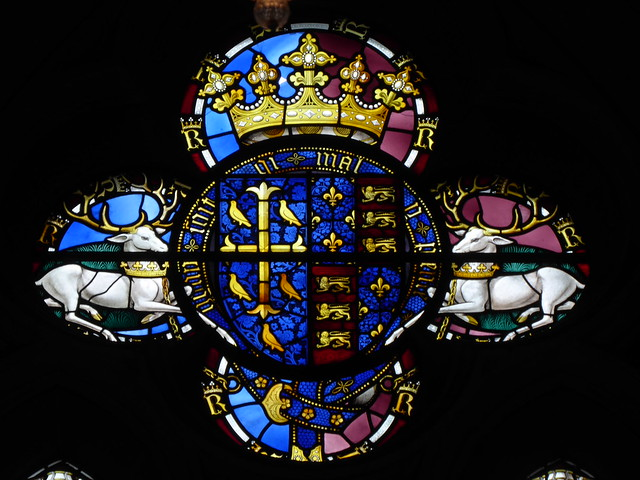 Arms of Richard II, Westminster Abbey