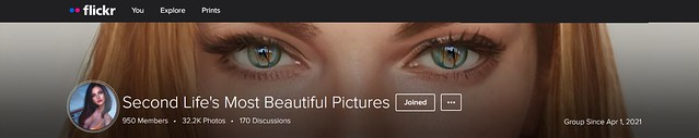 Thank you for the Profile pic cover <3 Second Life's Most Beautiful Pictures <3