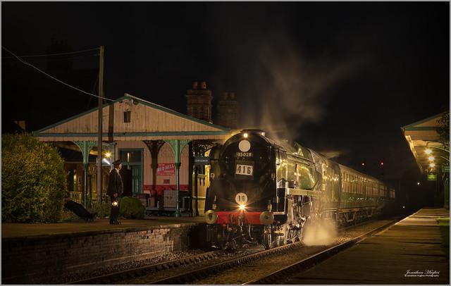 Bulleid night train