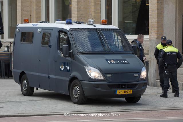 Dutch police Mercedes-Benz Sprinter