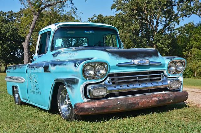 Perfect Patina - 1958 Chevy Pickup