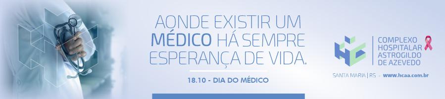 Homenagem aos médicos - HCAA - Santa Maria