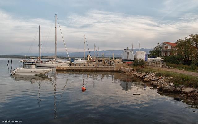 Shipyard for small boats