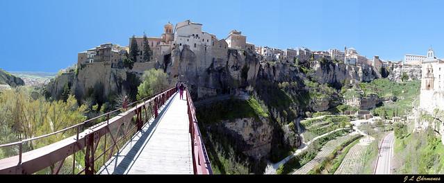 Cuenca. Panorama desde el puente