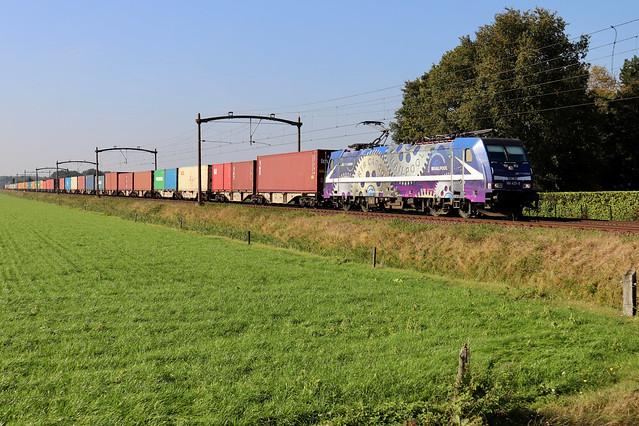 RTB Cargo 186 423 te Hulten 9 oktober 2021