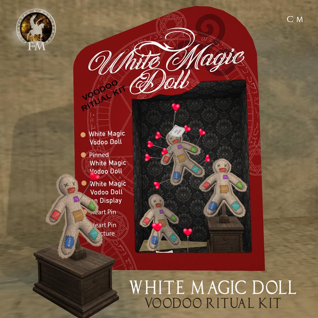 F&M White Magic Doll