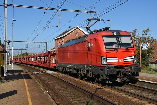 193 335 DB Cargo + 49569, Bilzen, 09/10/2021