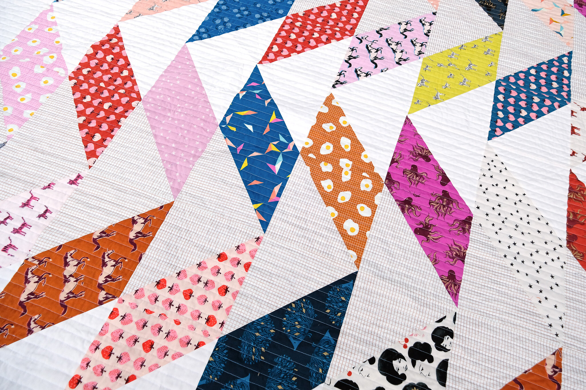 The Beatrice Quilt in Darlings - Kitchen Table Quilting