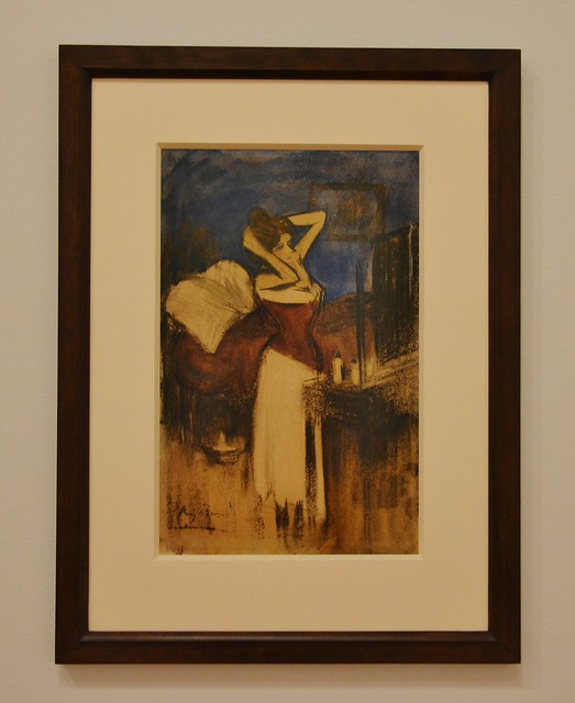 The Coiffure, Picasso: Painting the Blue Period, Art Gallery of Ontario, AGO, 317 Dundas Street West, Toronto, ON