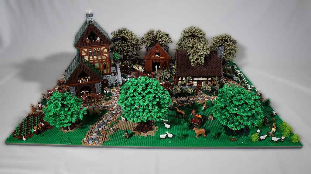 Medieval Countryside Layout Overview
