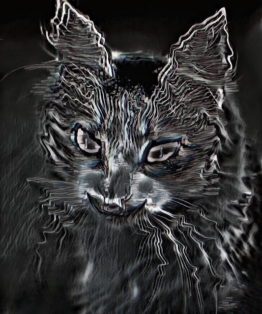 Portrait of an imp