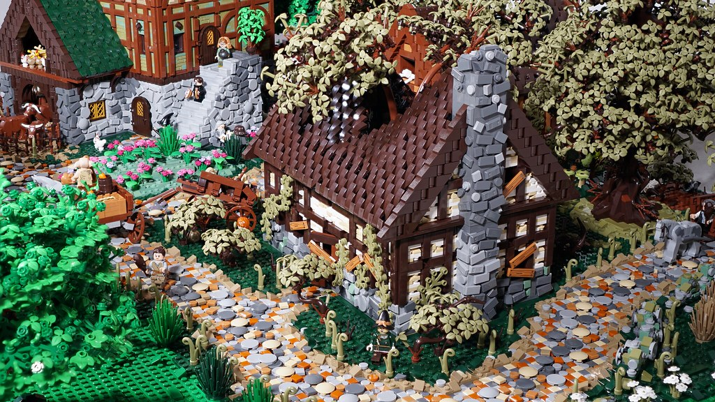 Medieval Countryside Layout 1
