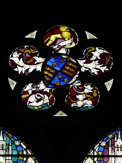Arms of Henry V, Westminster Abbey