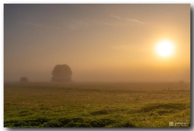 Mystic autumn sunrise - Explored 16.10.2021