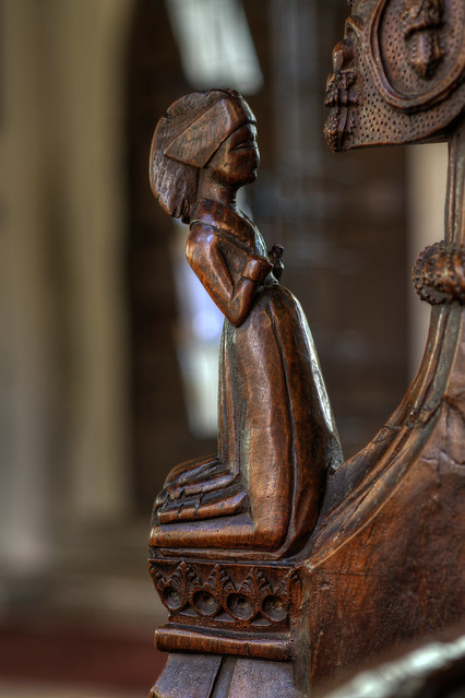 15c Bench end