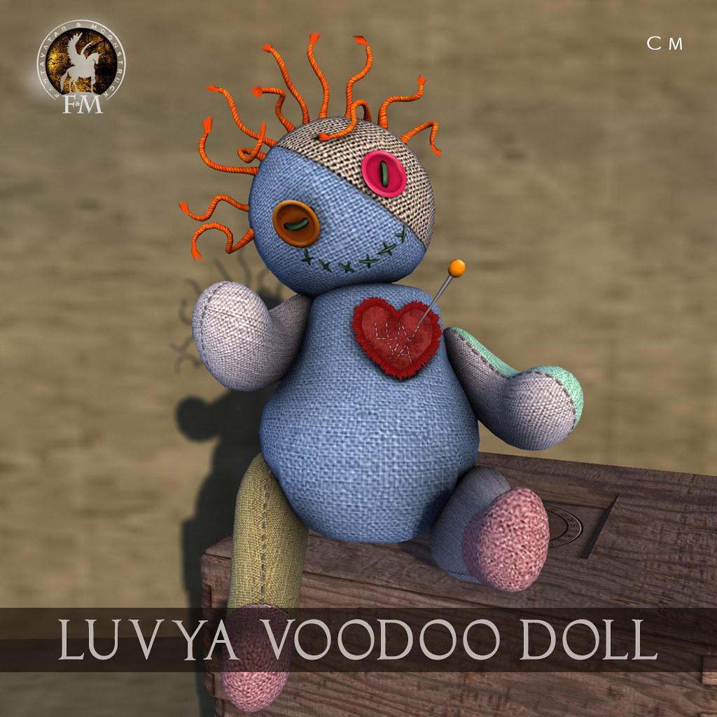 F&M * LuvYa Voodoo Doll – HUNT GIFT