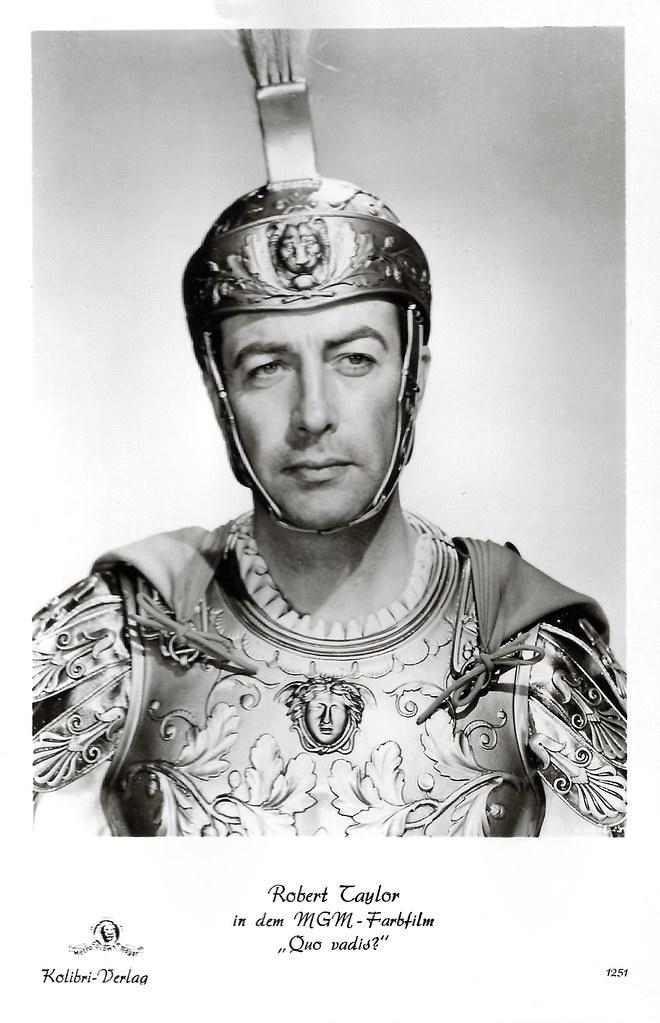 Robert Taylor in Quo Vadis (1951)