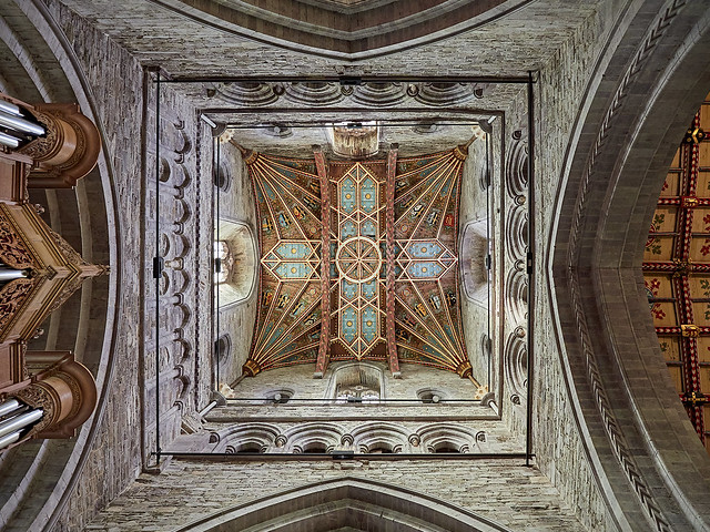 St Davids Cathedral - ceilings