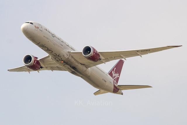 Virgin Atlantic   Boeing 787-9   G-VOWS