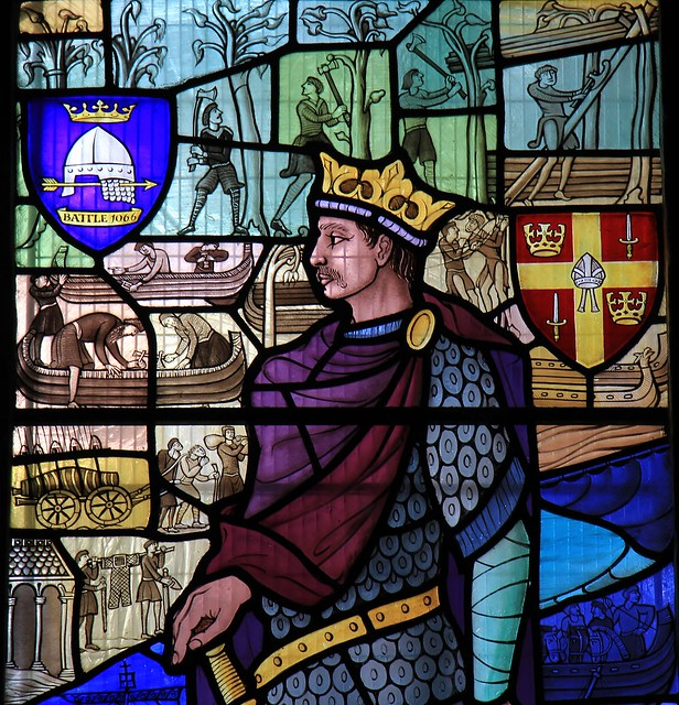 Stained glass -St Mary the Virgin church - Battle East Sussex -240821 (5)