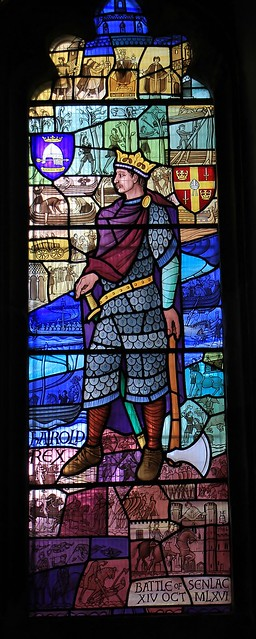 Stained glass -St Mary the Virgin church - Battle East Sussex -240821 (3)