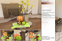 Sway's [Kester] Fall decoration | FLF-o-Ween