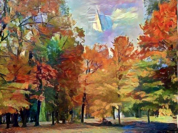 Autumn In Lee County Illinois.