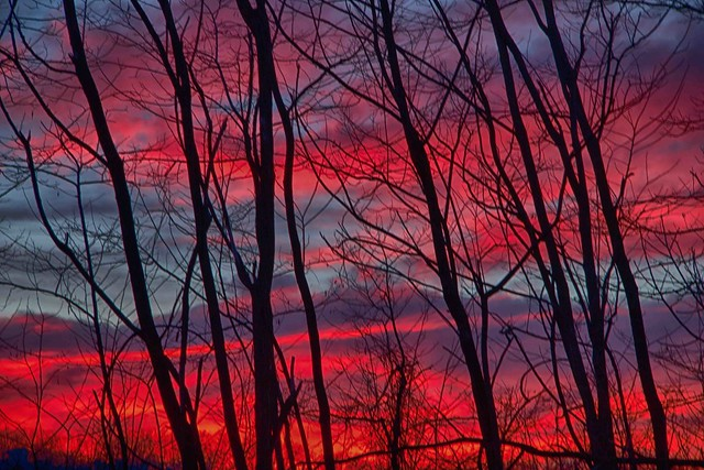 i colori di un tramonto