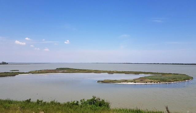 Dove il Po incontra il mare Adriatico