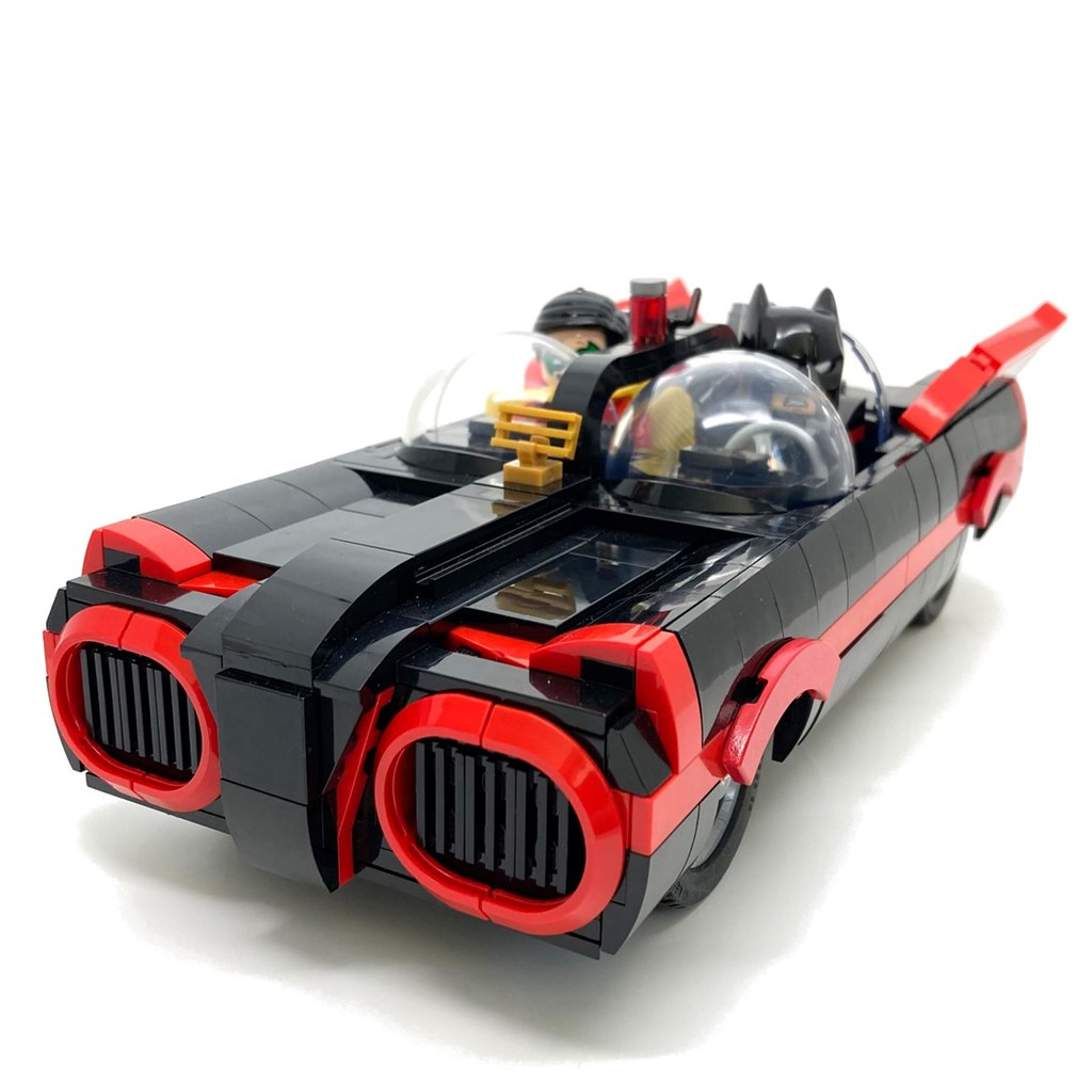 Large-scale LEGO Batmobile is ready to move out