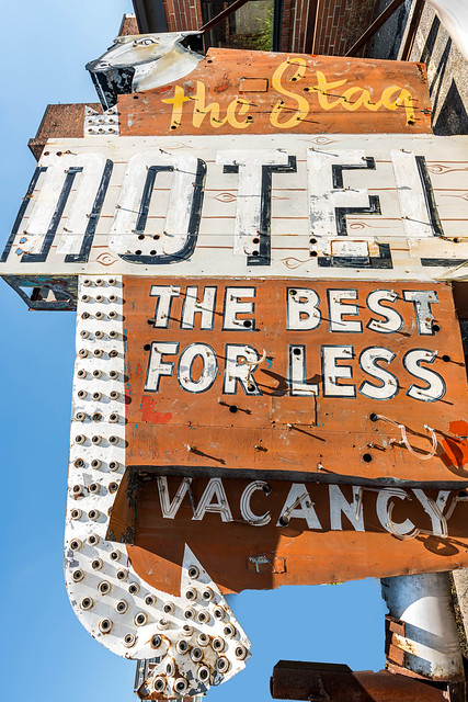The Stag motel, the best for less